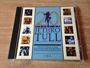 "JETHRO TULL CD "" 20 Years Of Jethro Tull "" CHRYSALIS 1988'"