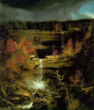 Oil painting Thomas cole - Falls of Kaaterskill beautiful landscape no framed