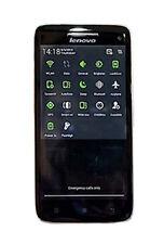 Téléphones mobiles noirs Lenovo
