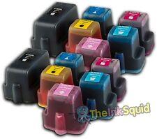 12 Compatible Hp C5180 Photosmart Impresora Cartucho De Tinta