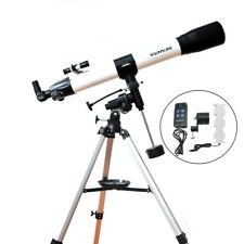 Visionking 80mm Refractor Astronomical Telescope Star Planet Finder with motor