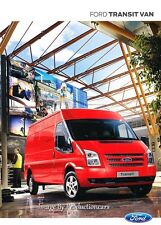 2013 Ford Transit Cargo Van 58-page UK Euro Car Sales Brochure Catalog
