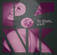 PINK THE ALBUMS...SO FAR 6 CD ALBUM BOX SET (October 23rd 2015)