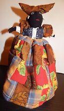 """8"""" Namibian HERERO Tribal Doll Authentic - Bought from Herero female seller nr 7"""