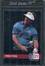1992 Pro Set Golf Fred Funk #62 Signed Autograph