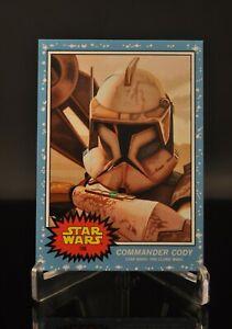 Topps Star Wars Living Set - Commander Cody (#166)