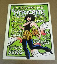 J-C FOREST - LA REVANCHE D'HYPOCRITE - ED. SERG - EO 1975 (TBE)