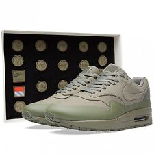 2015 Nike Air Max 1 V SP SZ 6 Steel Green Patches Pack Nikelab QS 704901-300