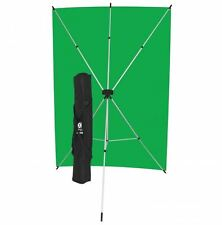 Westcott X-Drop Kit with Green Chroma Key Backdrop (5 x 7', Green) 579K