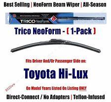 (Qty 1) Super Premium NeoForm Wiper Blade fits 1970-1974 Toyota Hi-Lux 16140