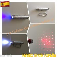 Detector Billetes Linterna UV Puntero Y Linterna LED 3 En 1 Varios Usos Nuevo