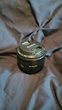 Canon EF 2514A011AA 50mm f/1.8 II EF Lens works PERFECTLY great portrait shots