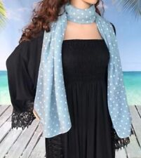 Polyester Rectangle Floral Scarves & Wraps for Women
