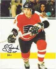 """Larry Goodenough Autographed Philadelphia Flyers 8"""" x 10"""" Photo w/COA Cert."""