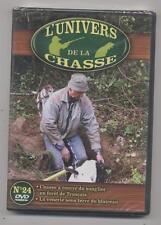 NEUF DVD L UNIVERS DE LA CHASSE N°24 CHASSE A COURRE DU SANGLIER VENERIEBLAIREAU