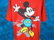 vintage 90s MICKEY MOUSE WALT DISNEY T-Shirt XL cartoon soft hip hop