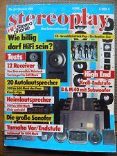 STEREOPLAY 10/88,SONOFER SF 6,YAMAHA CX /MX 50,B&M BM 40,KRELL KSA 250 EUR,AUDIO