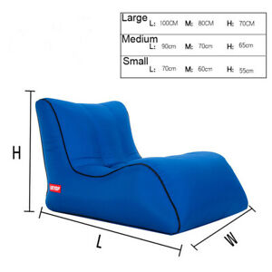 Air Sofa Inflatable Loungers Inflatable Couch Travelling Outdoor Camping Sofa
