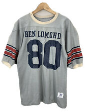 Vtg 60's Champion Ben Lomond High School Football Durene Jersey Sz 42 Distressed