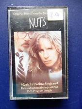 Barbra Streisand Nuts Original score rare 5 track Promo stamped 1987 Cassette