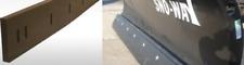 Urethane Snow Plow Bladeedge Black Custom Sizes Outlast Rubber Surface Saver