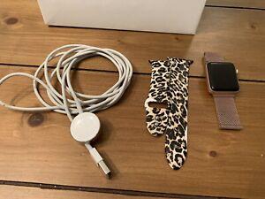 Apple Watch Series 3 GPS+LTE w/ 38MM Rose Gold Aluminum Case