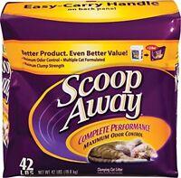 SCOOP AWAY Multicat Complete Performance Cat Litter 42-Pound
