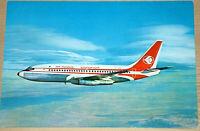 41233Ak Avión Air Algerie Boeing 737-200 Twinjet Argelia
