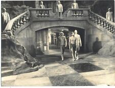 PLANET OF THE APES-8 old PHOTOS IN B AND W-CHUCK HESTON-1968-FROM NEGATIVE