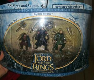 Lord Of The Rings Soldiers And Scenes  Fighting Fellowship  NIB NRFB New