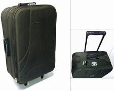 Koffer Set Trolleys 2 teilig Reisekoffer Trolley MC 30006 dunkelgrau