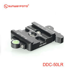 """Sunwayfoto lever-Release Clamp DDC-50LR Arca Compatible Screw hole UNC3/8"""""""