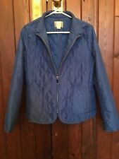 REGATTA BLUE ZIP UP JACKET SIZE 10