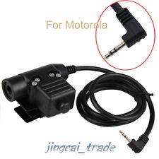 Z-Tactical U94 Headset Cable Adapter & PTT for Motorola Cobra 1-Pin 2.5mm Radio