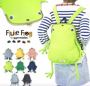 Gym Master Fluke Frog Original & Mini Frog Shaped Backpack Choose from 8 Color