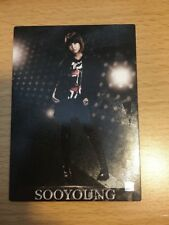 SNSD Girls Generation Sooyoung Rare Hologram Official Starcard Card Kpop K-pop