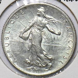 France 1919 2 Francs 294264 combine