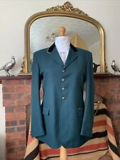 Mens John Whitaker Green Wool Mix Show/Competition Jacket Size 42