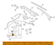 TOYOTA OEM Wiper Washer-Windshield-Washer Pump Bushing 8533660300