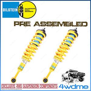 "Nissan Navara D40 Bilstein B6 & KING Coil Spring Front Preassembled 2"" Lift Kit"