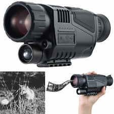 Zavarius Monokulares HD-Nachtsichtgerät mit 5-facher Vergrößerung, bis 500 m