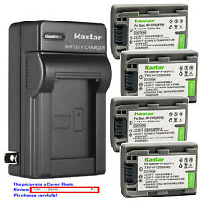 Kastar Battery AC Wall Charger for Sony NP-FP50 NP-FP70 NP-FP71 NP-FP90 NP-FP91