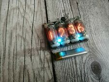 Electronics for watches with NIXIE lamps, with Z5900M, wrist watch, tube