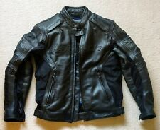 Triumph Leather Motorcycle Jacket 38-40 - Motorbike D3O Protection
