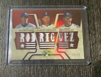 2008 Topps Triple Threads Relics /36 Alex Rodriguez #TTRC-86 GAME USED RELIC