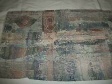 TAPESTRY / UPHOLSTERY  FABRIC 1 PIECE  1/2 YARD MULTICOLOR DESIGN !!!