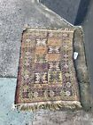 Early 20th Century Hand Knotted Afghan Rug/Carpet