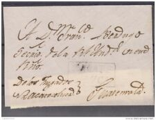 """O) 1810 EL SALVADOR, ZACATECOLUCA TO GUATEMALA, COLONIAL FRONT WITH BOX """"ZACATE/"""