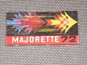 mini catalogue majorette 1973