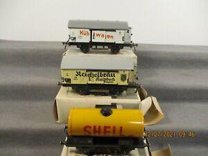 Fleischmann 0 Güterwagen-Set 3-teilig Kesselwagen u.a. in OVP P233